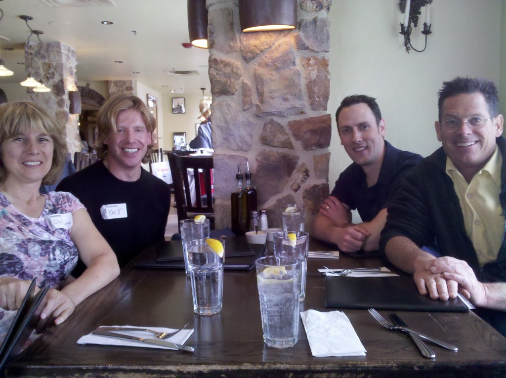Til Luchau, Aaron Gustafson and the AMT teaching crew in Vail, Colorado 2011