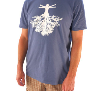 Mens Lake Front Roots Tee